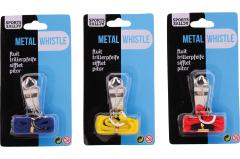 Sports Active metal whistle, 3 assorted