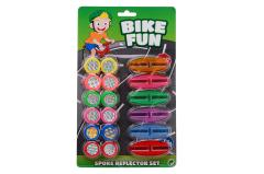 Bike Fun spokereflectors 18 pieces