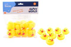 Happy World bathducks 8 pieces in bag