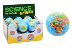 Science Explorer Globe ball soft in display dia. 75mm