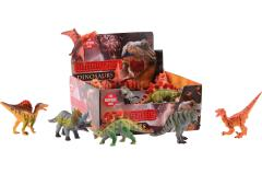Animal World Dinosaurier im Display ± 17 cm