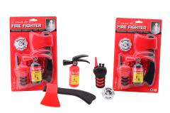 Fire fighter starter kit on card 2 assorted