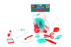 Doctor playset in bag, 9 pieces
