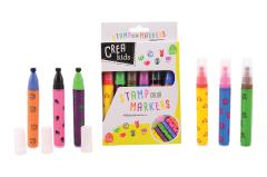 Crea Kids stamp markers 6 pieces in box