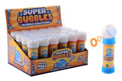 Aqua Fun Bubbles with game in display 50ml