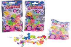 "Make your own bracelet ""Loom"" accessories 48 pieces in bag"
