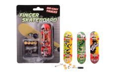 Finger skateboard 4 assorted
