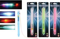 LED party stick with light, 4 assorted