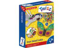 Twizz® Set of ironbeads butterfly/horse