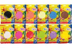 Twizz®  Modelling clay, 12 assorted packed per color