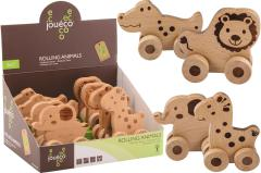 Jouéco® - Rolling animals 4 assorted