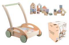 Jouéco® - The Wildies Family Loopauto met blokken